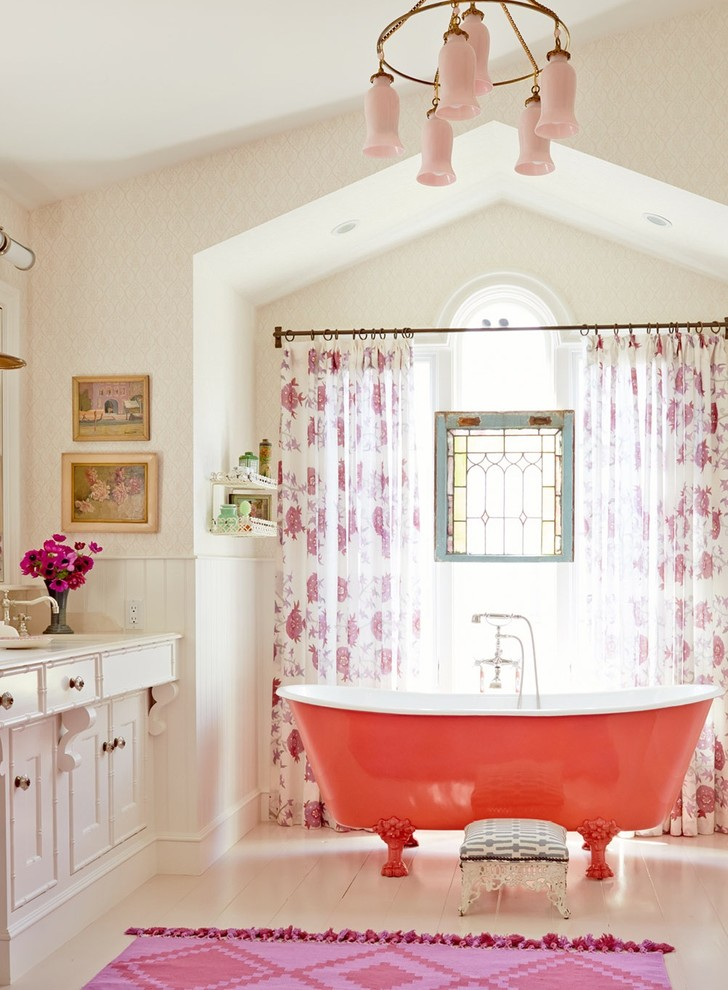 Citrus Colors Are Back Tour These 7 Summery Bathrooms