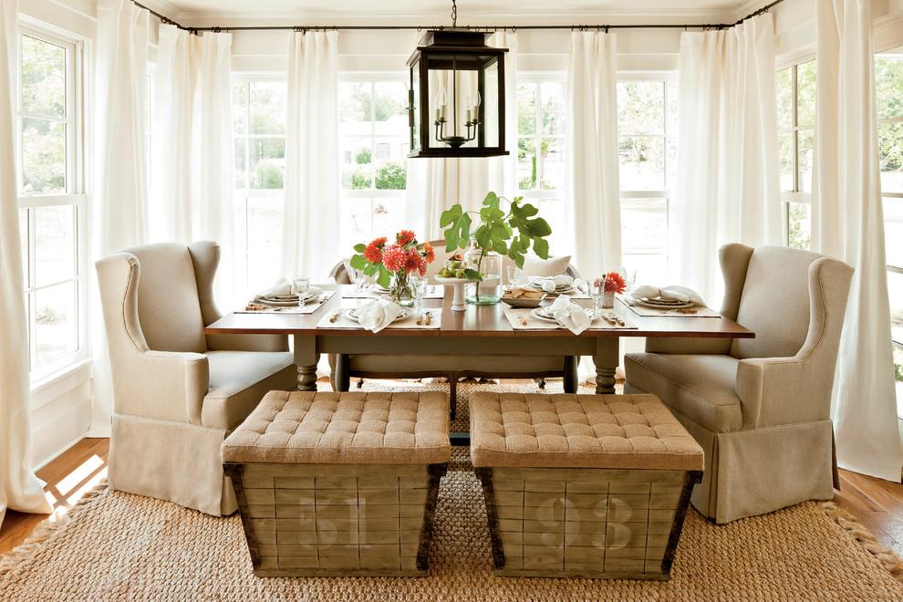 farm house dining room sisal rug decorating ideas