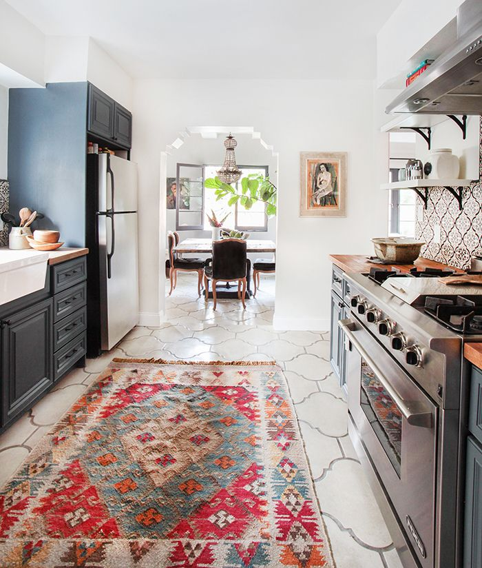 persian rug carpet in kitchen decorating