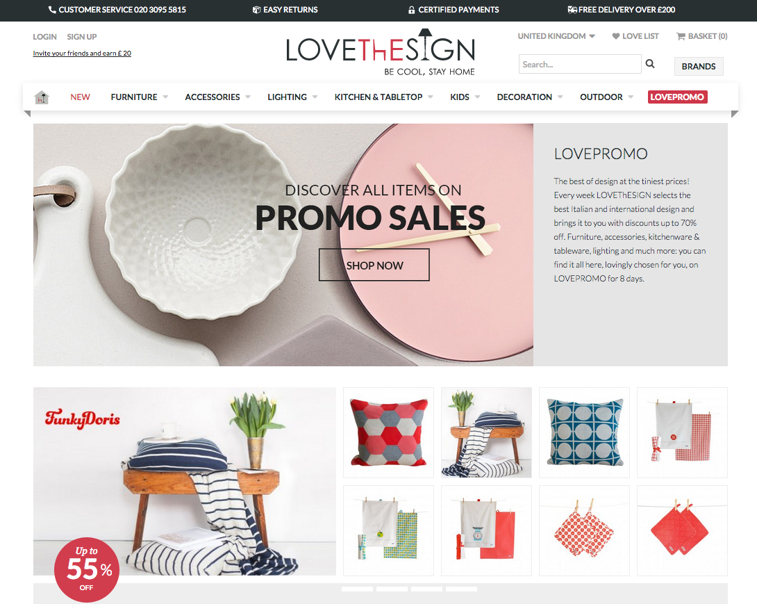 website LoveThESIGN italian fine furniture review company online store uk  european union shipping order better decorating. Spotlight On  LoveThESIGN   A New Online Shop with the Finest