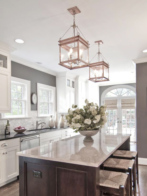 How To Hang And Decorate With Kitchen Pendant Lights