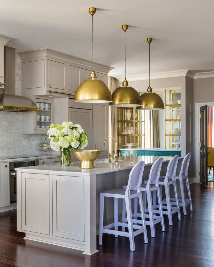 How to Hang and Decorate with Kitchen Pendant Lights ...