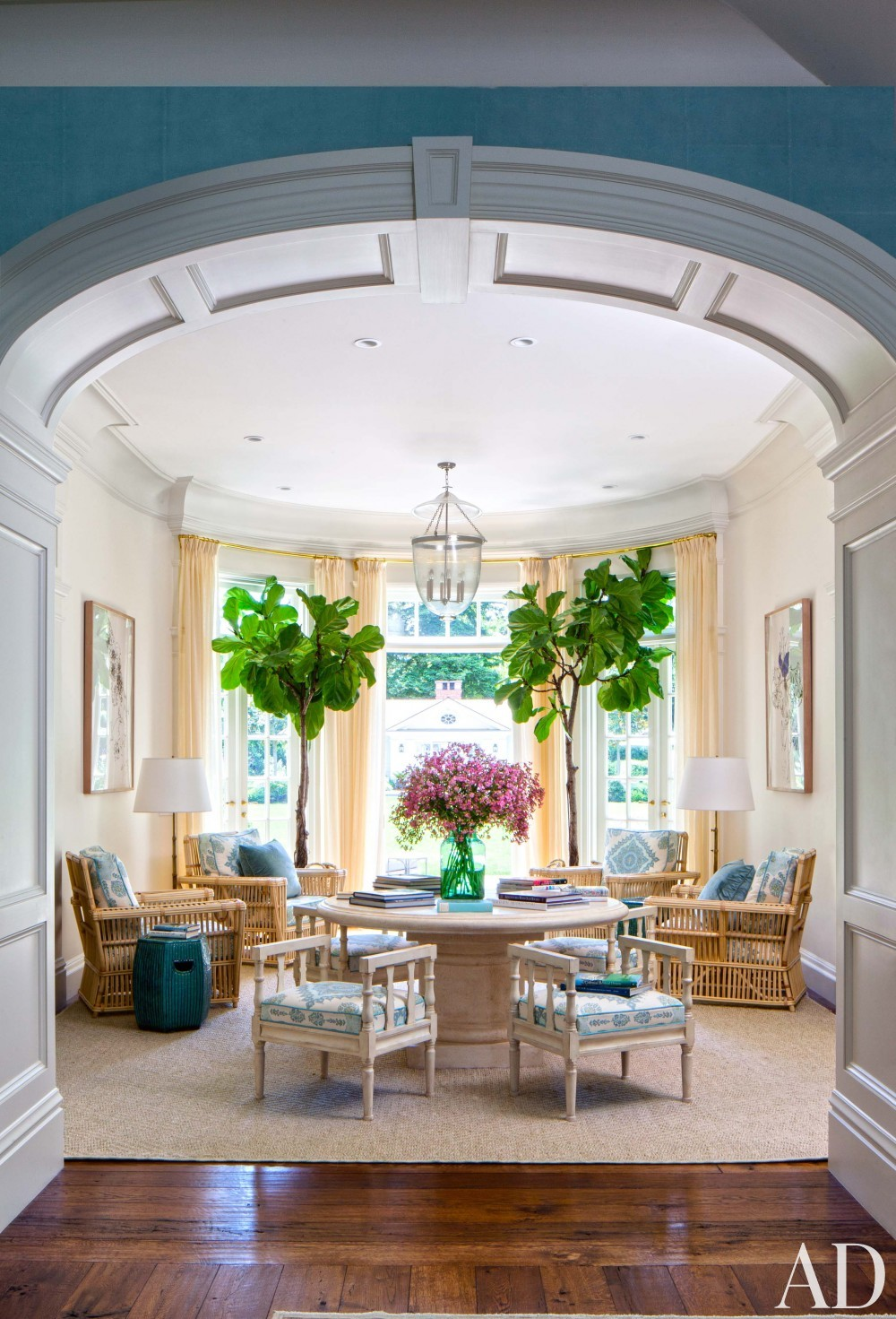 Cool Sunken Living Room Ideas For Your Dreamed House: Home Tour: A Dreamy Country Estate In Sunny California