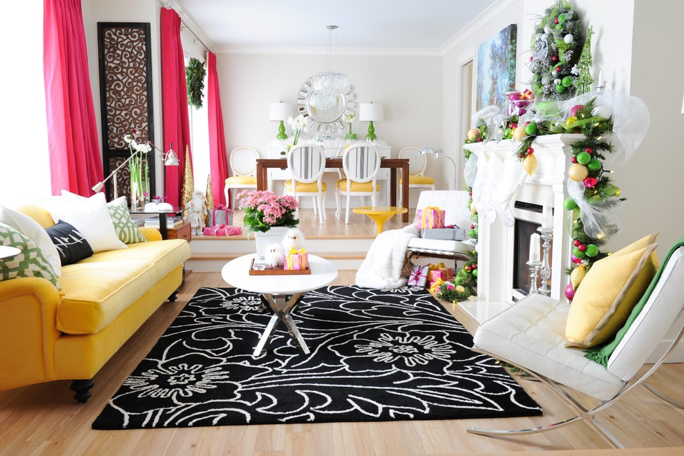 pink and yellow holiday home amazing decor flooring and accessories. Black Bedroom Furniture Sets. Home Design Ideas