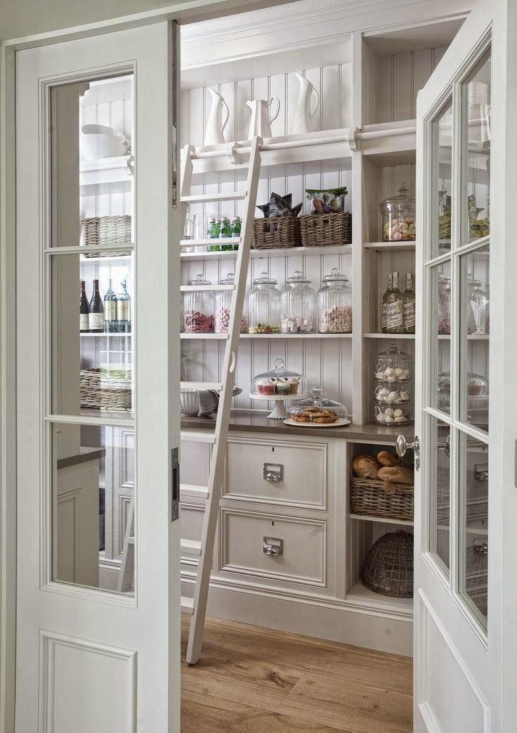Betterdecoratingbible home interior design interior for Country kitchen pantry ideas