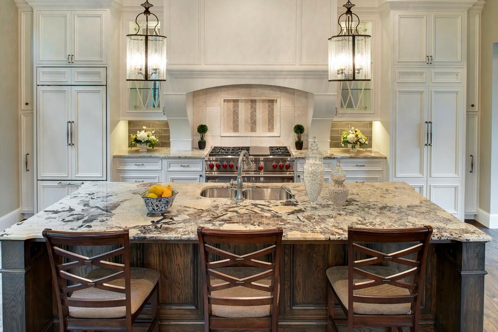 marble kitchen mediterranean designer mansion home staging tricks decor