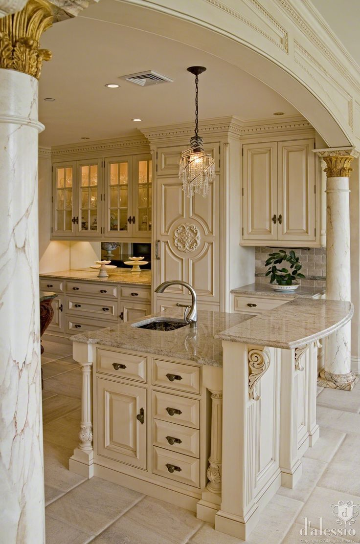 Dream kitchen cook up a storm in these 7 glamorous kitchens - European inspired home decor photos ...