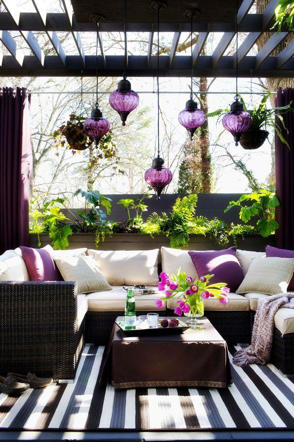 outdoor rattan furniutre chandeliers deck pergola better decorating bible blog