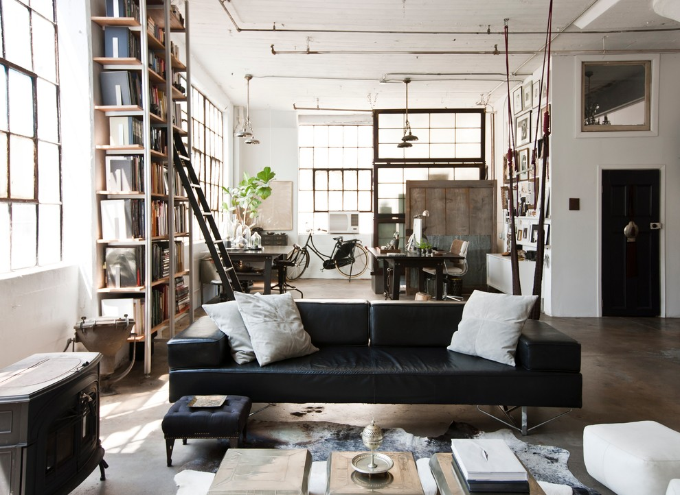 vintage industrial decorating ideas