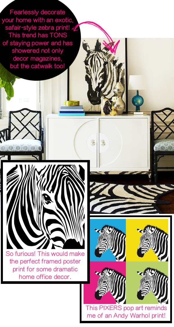 PIXERS pixersize custom poster prints wall murals wall decor ideas print your own images cover a wall budget decor zebra canvas print 1