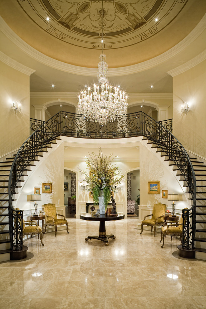 5 big luxury home must haves to keep in mind for your next for Mansion foyer designs