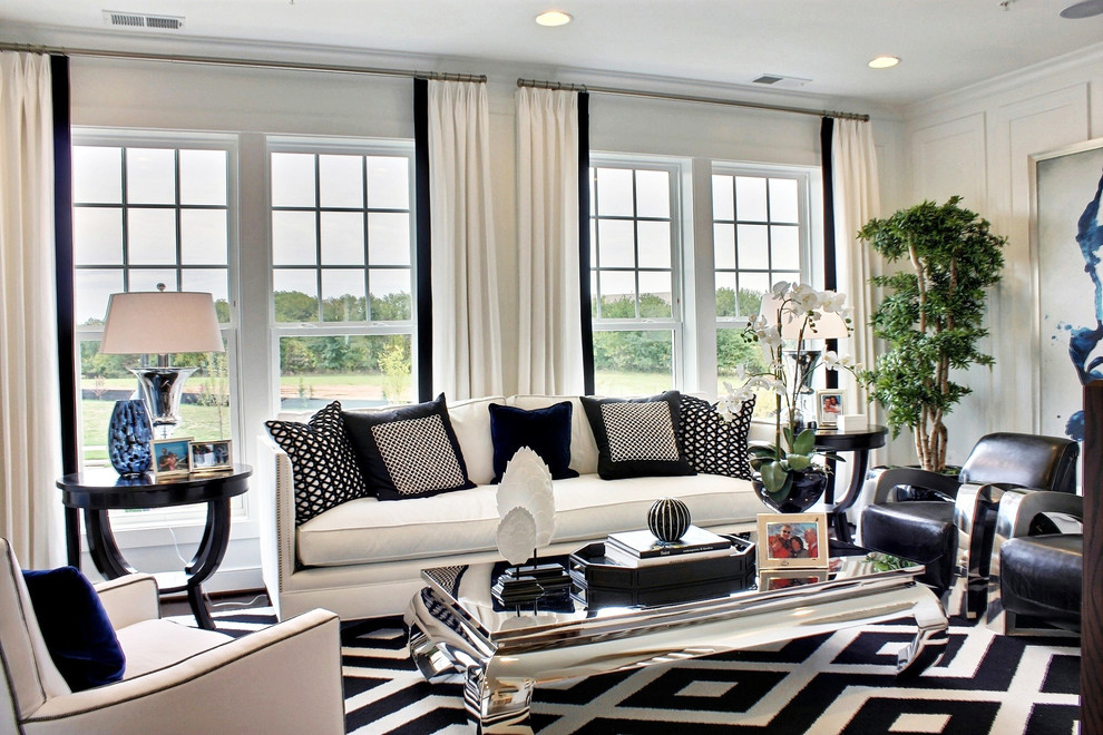 Living Room White Walls Black Furniture Ayathebookcom