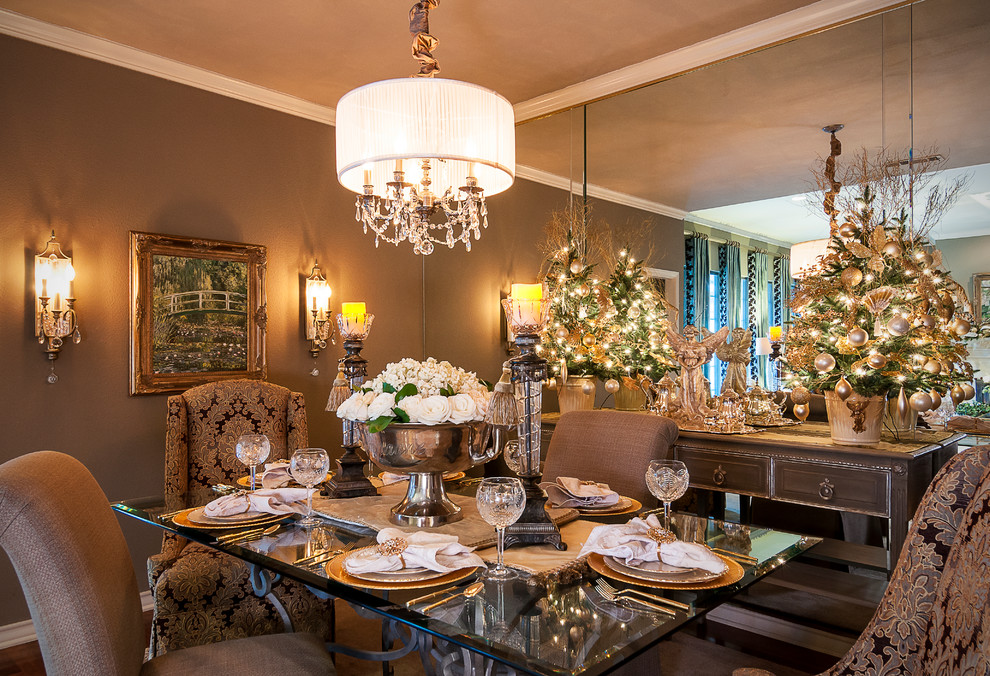 christmas dining room gold metallic decorations ideas better decorating bible blog