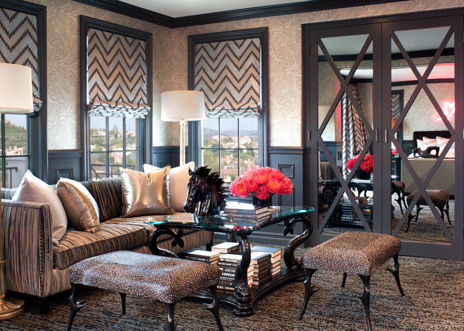 Spotlight on jeff andrews the interior designer for the for Decoration maison kris jenner