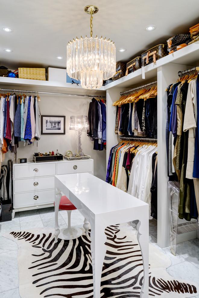 zebra hide rug closet decor