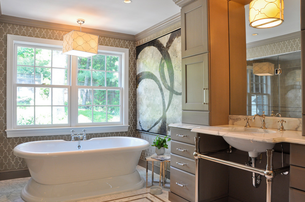 What S Hot Freestanding Bathroom Sinks