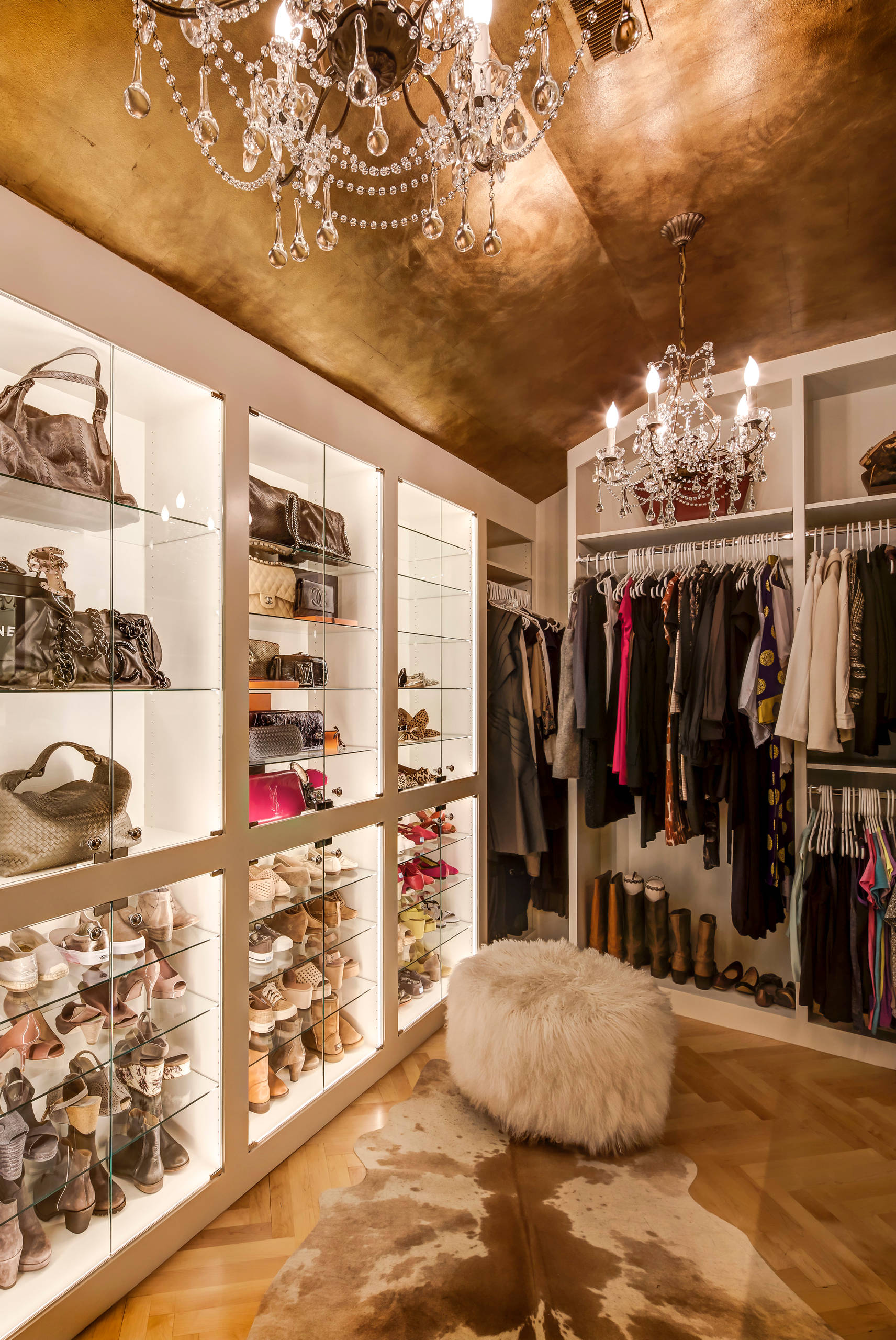 7 steps to your own kylie jenner inspired glam room for Inspired closets