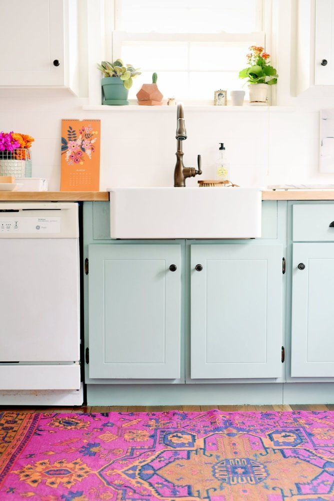 Persian Rug In Kitchen Decor. Photo: Apartment Therapy