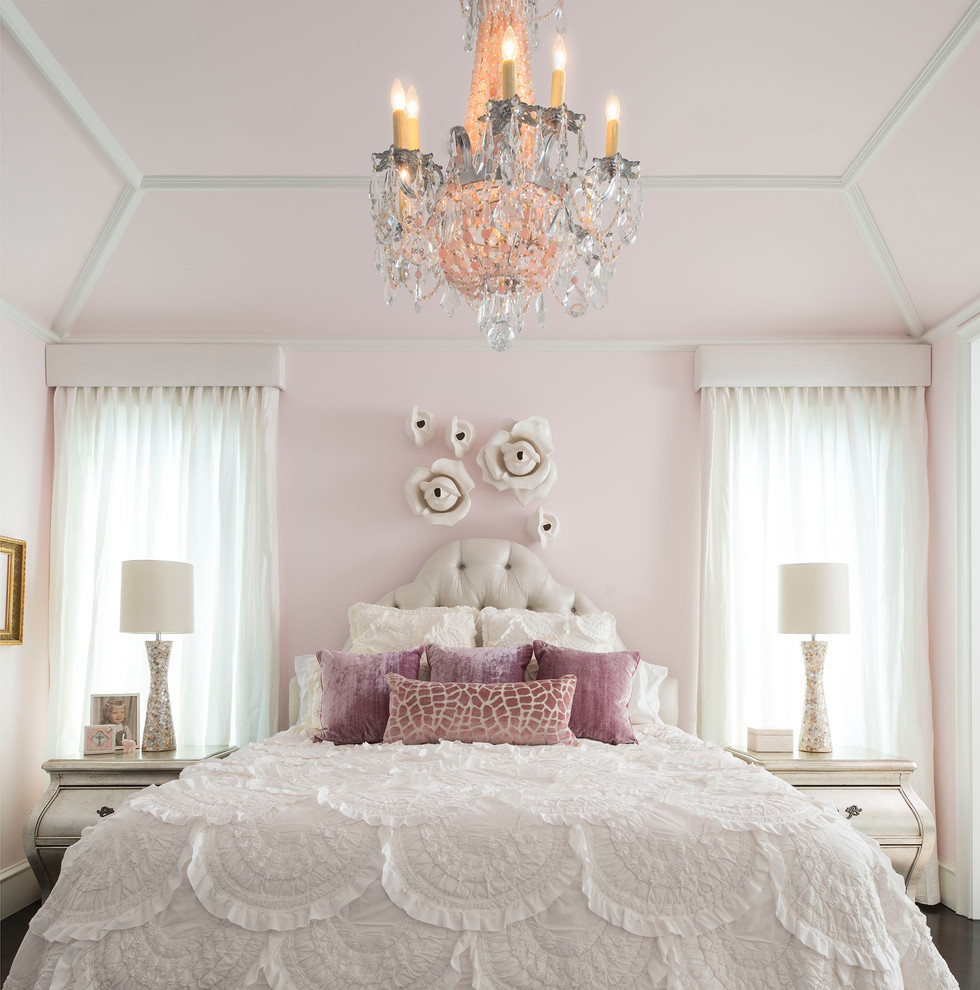 Fit for a princess decorating a girly princess bedroom for Bed decoration design