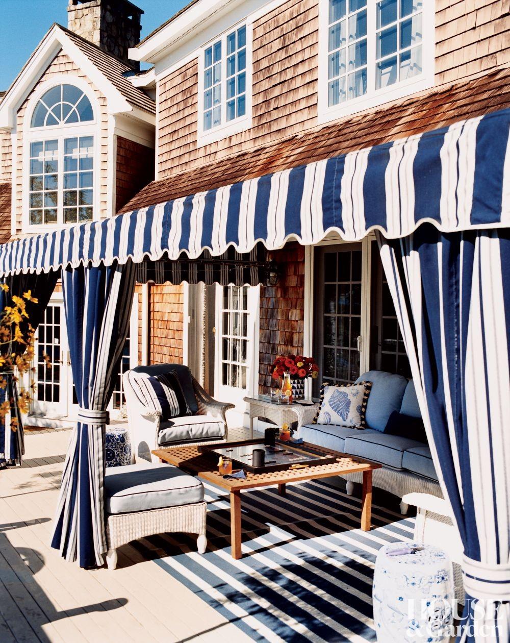 seaside beach theme patio decor ideas