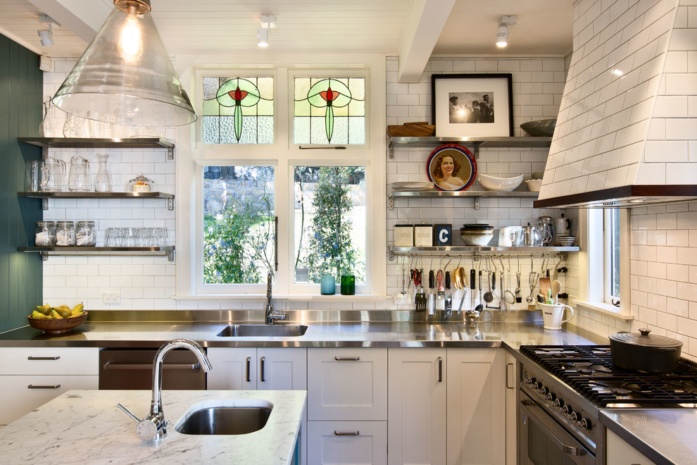 What\'s Hot: Stainless Steel Kitchen Countertops – Durable ...