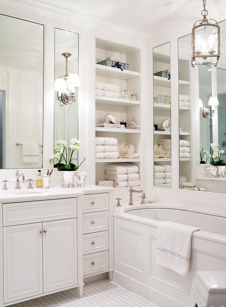 bathroom decorating ideas open shelving towel holder