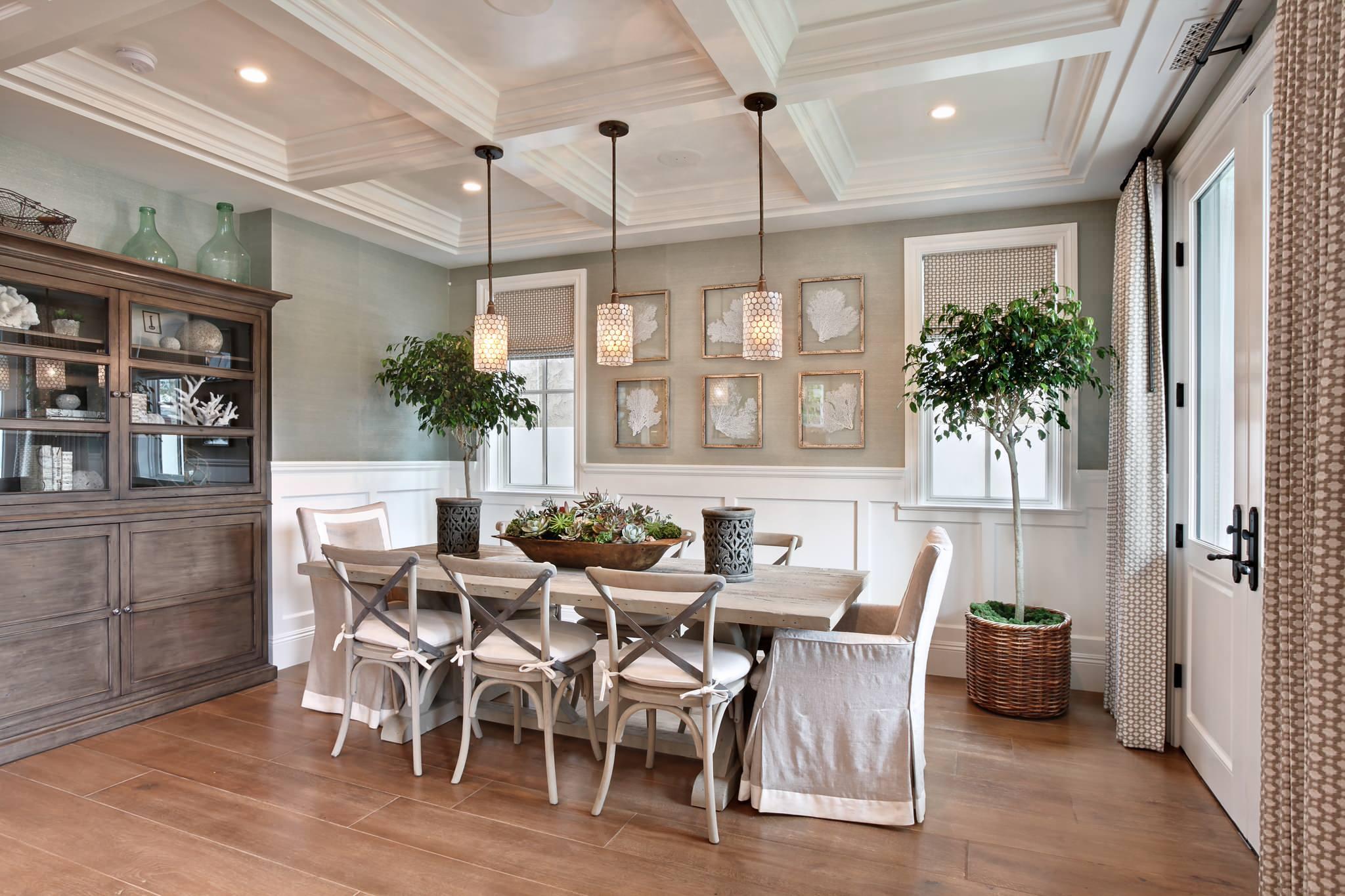 dining room pendant decor