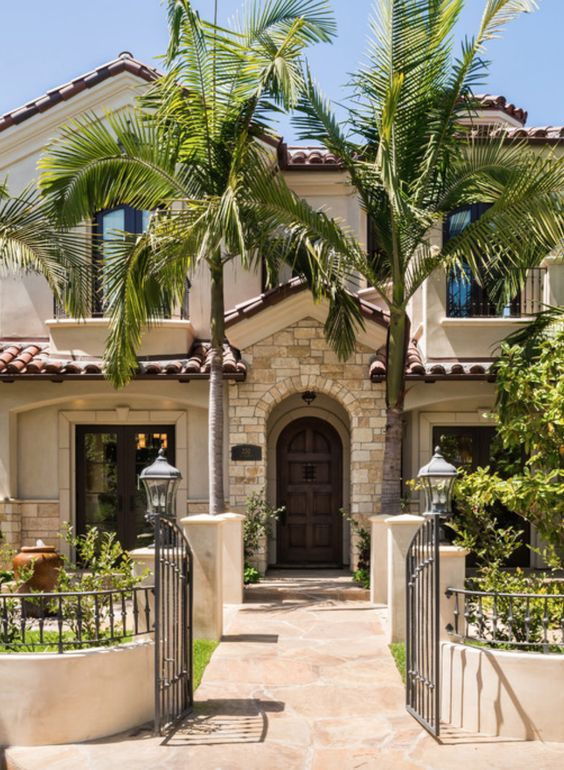 mediterranean roofing decor