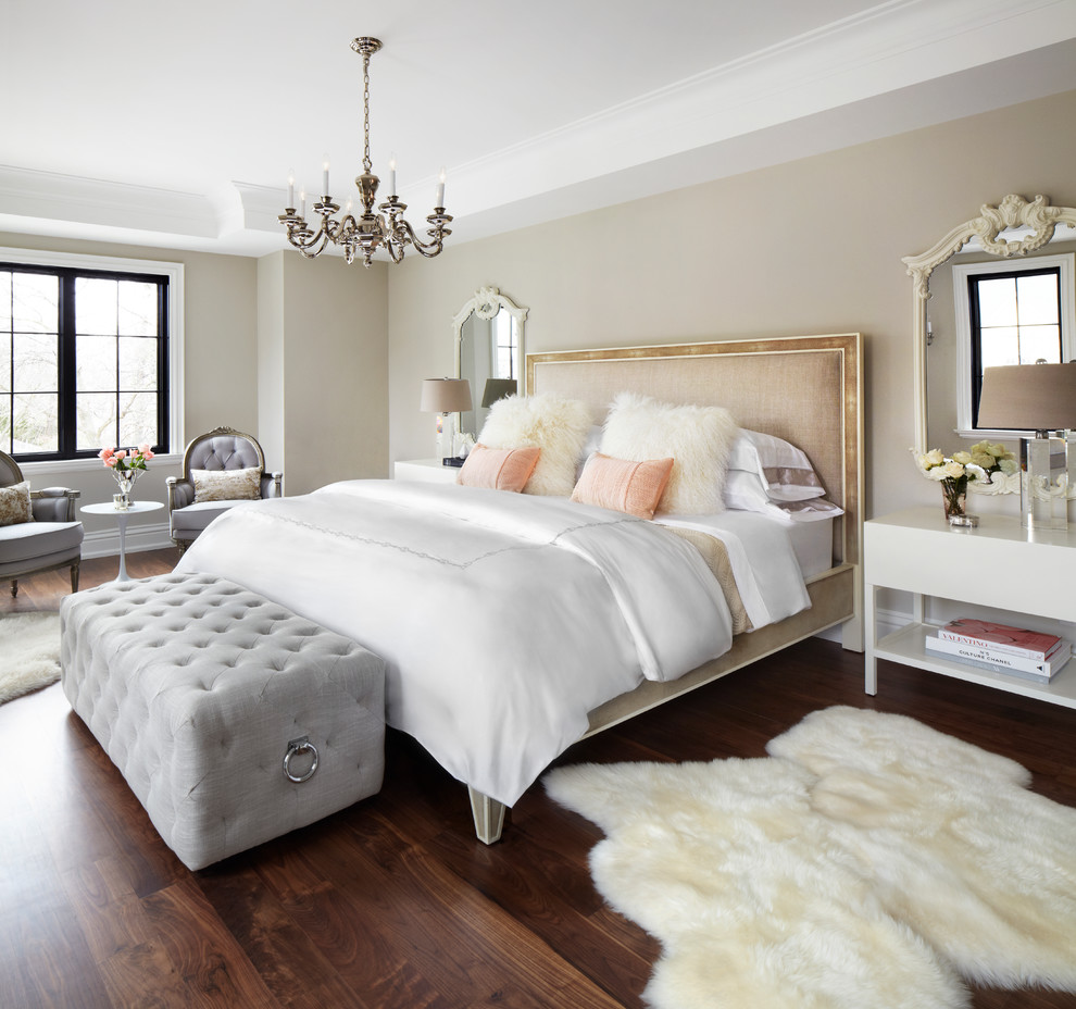 Here s the right way to design your bedroom for a good for White fur bedroom