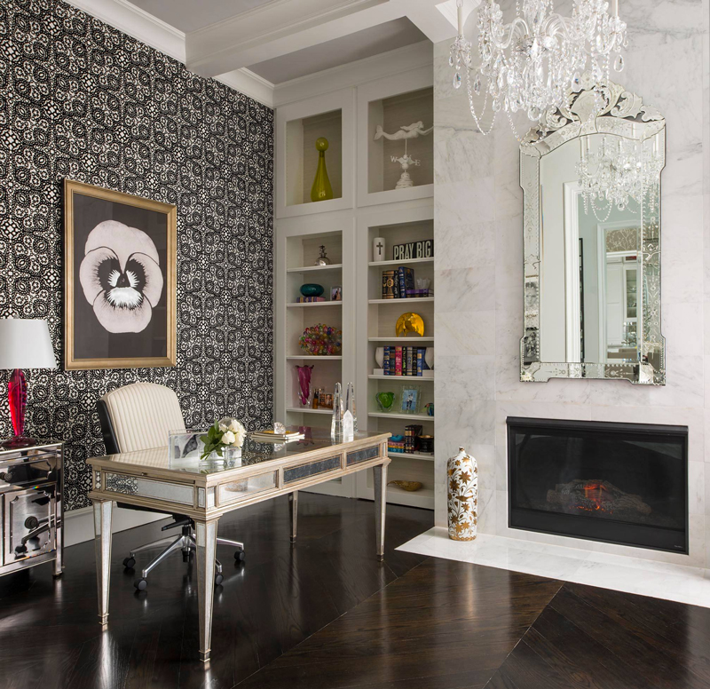 7 Glamorous Blank Wall Solutions That Bring In Some Serious Panache