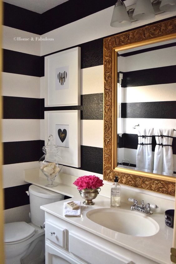 Powder Rooms: Design Tips for Small Bathrooms ...