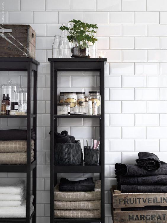 ikea bathroom storage diy decor powderroom