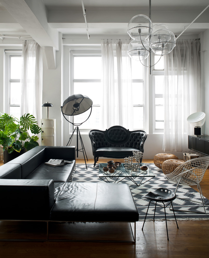 monochrome black and white industrial decorating living room better decorating bible blog