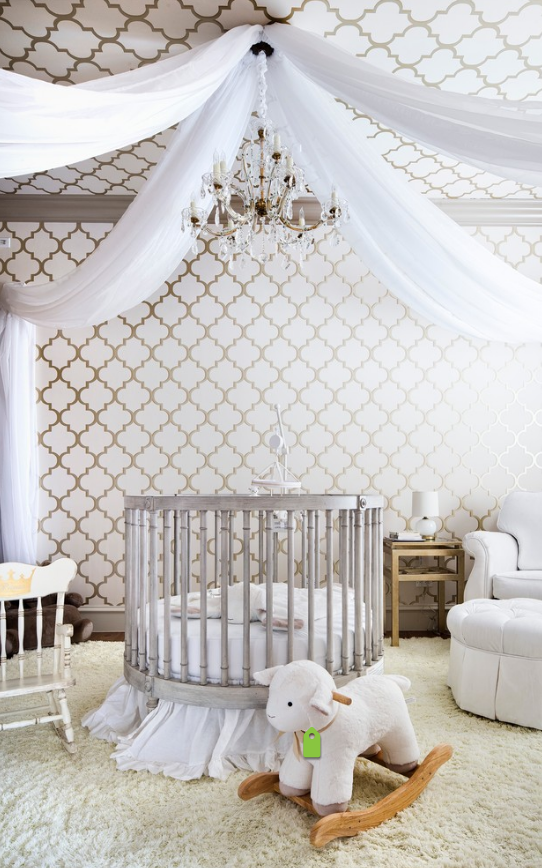 beautiful nursery decorating ideas wallpaper