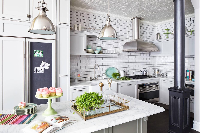 ceiling tiles kitchen decor ideas glam