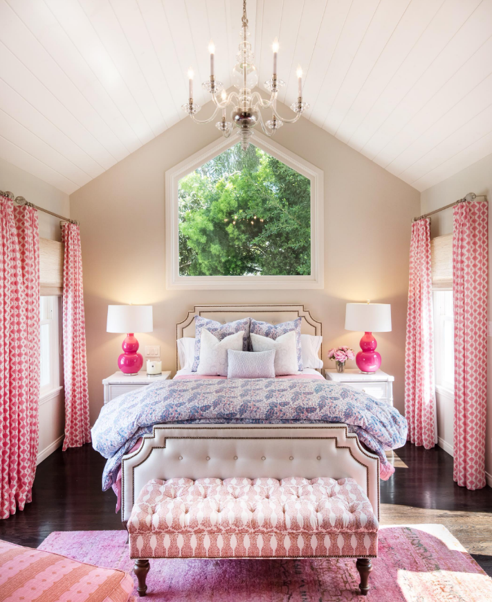 princess girly teenagers room pink decorating ideas gorgeous glamorous