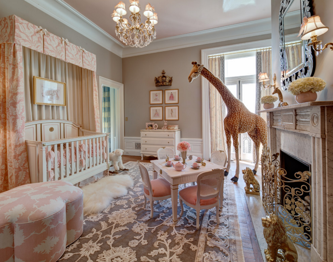 princess kids nursery bedroom french style decorating ideas royalty