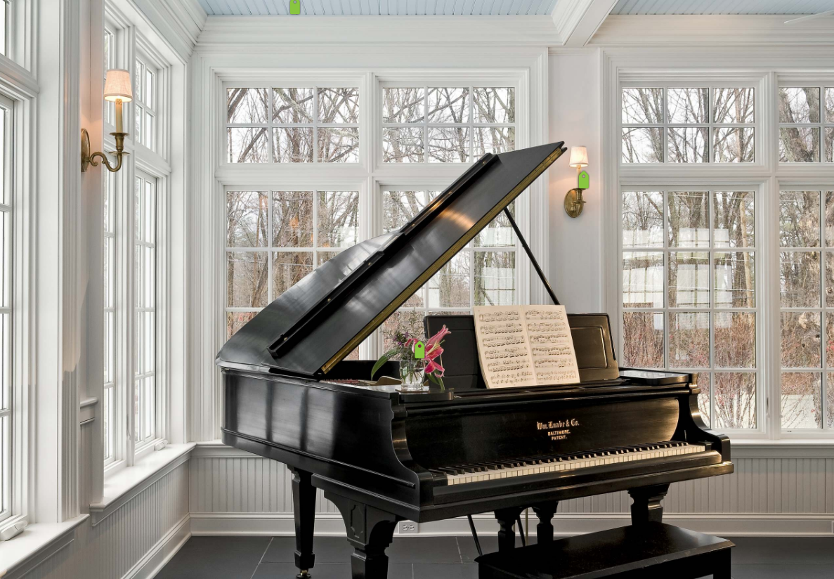 Use underfloor heating to make your home feel luxurious for Small grand piano