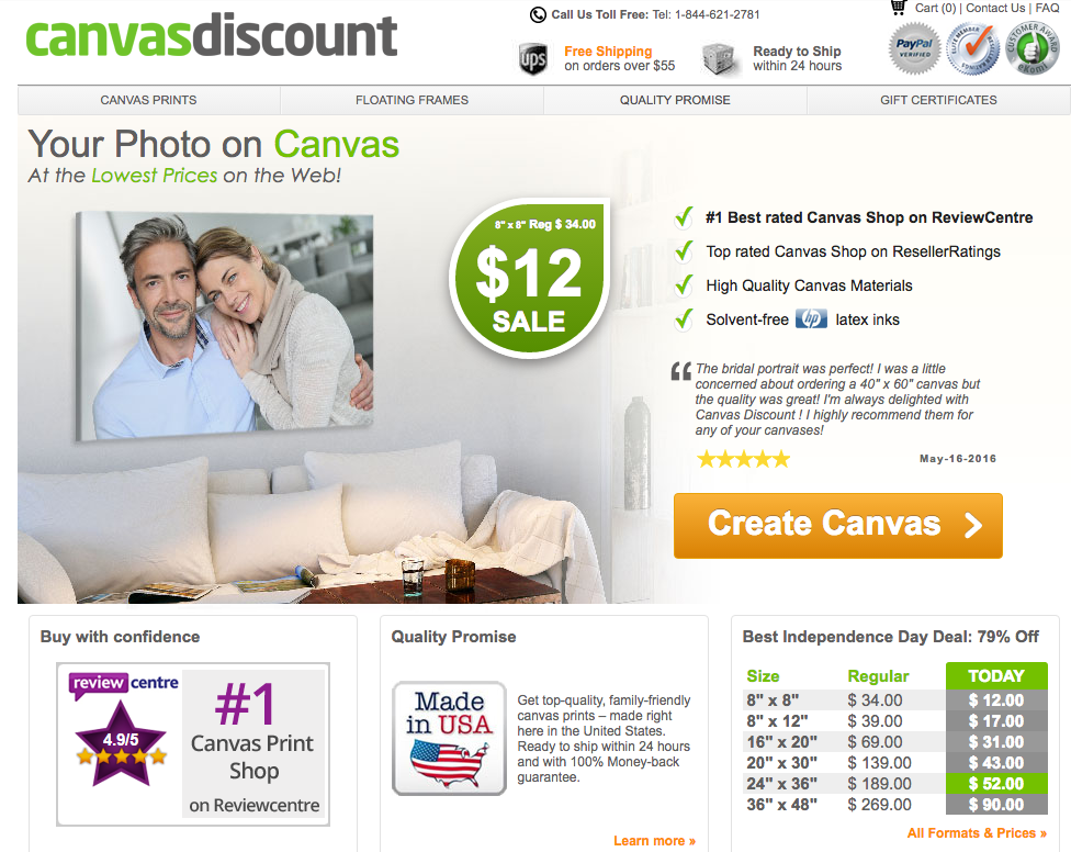 canvas discount printing on canvas artwork custom photos