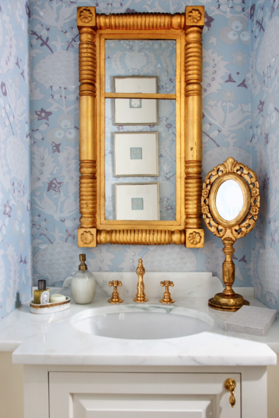 gold-vintage-mirror-bathroom-decorating-ideas