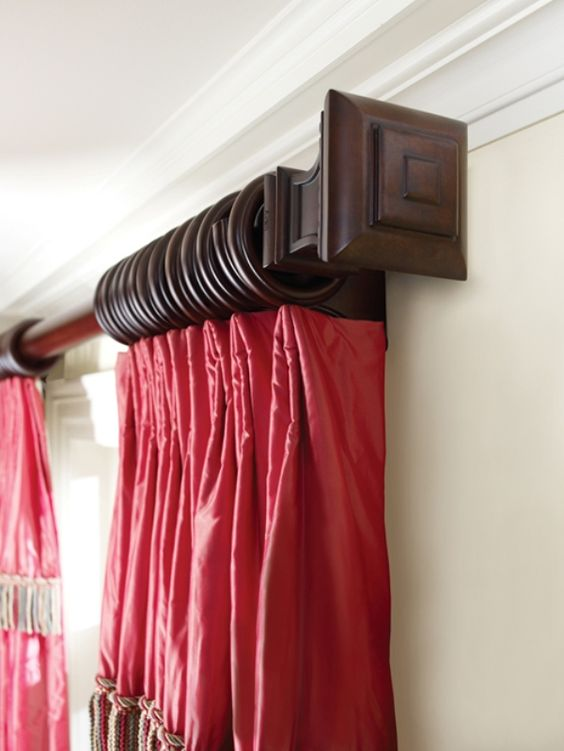wooden-decorative-curtain-rod-ideas-decorating