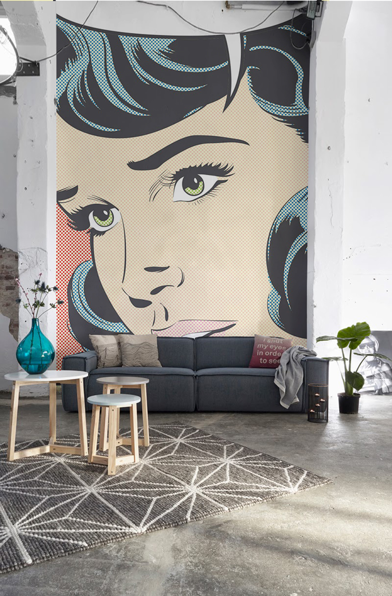 New Year New Trend Wallpaper Murals Are A Flavorful Start To