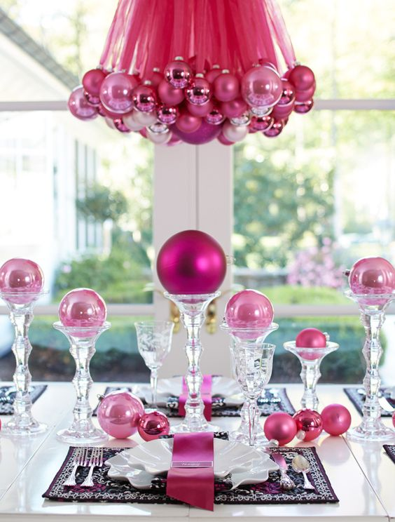 pink-christmas-table-decor-ideas