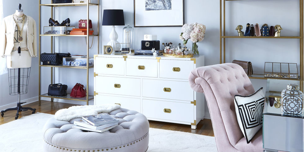 Chic Office Decor the ultimate dream home office: this romantic office is oozing