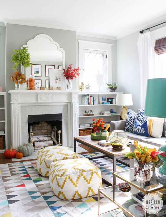Here s how to spring clean your home for a fresh start at for How to start decorating a living room