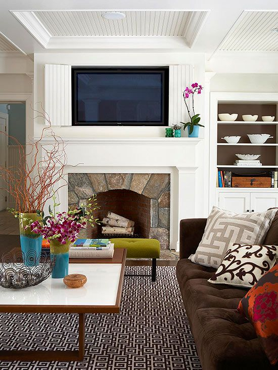Hide Your Television Away With These Ingenious Decorating Ideas!