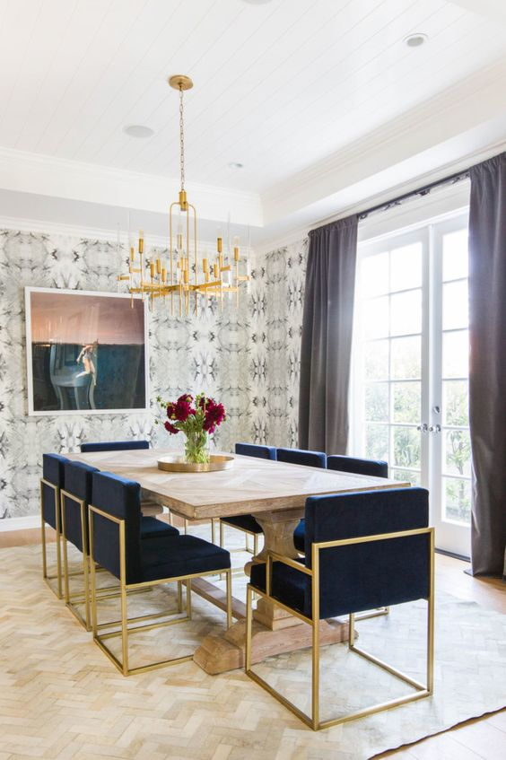 28 Simple Dining Room Ideas For A Stunning Inspiration: BetterDecoratingBible