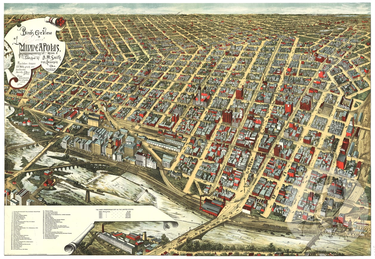 Spotlight On Teds Vintage Maps Using Maps For Art Décor And - Vintage minneapolis map